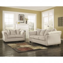 Flash Furniture FSD-1109SET-STO-GG Signature Design by Ashley Darcy Living Room Set in Stone Fabric addl-3