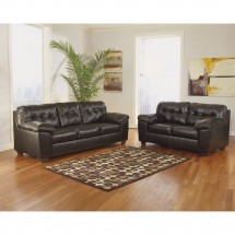 Flash Furniture FSD-2399SET-CHO-GG Signature Design by Ashley Alliston Living Room Set in Chocolate DuraBlend addl-3