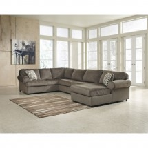 Flash Furniture FSD-6049SEC-DUN-GG Signature Design by Ashley Jessa Place Sectional in Dune Fabric addl-2