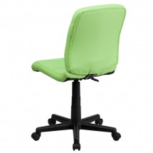 Flash Furniture GO-1691-1-GREEN-GG Green Mid-Back Quilted Vinyl Task Chair addl-2