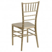 Flash Furniture LE-GOLD-GG Flash Elegance Gold Resin Stacking Chiavari Chair addl-1
