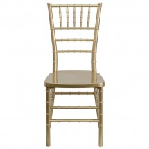 Flash Furniture LE-GOLD-GG Flash Elegance Gold Resin Stacking Chiavari Chair addl-2