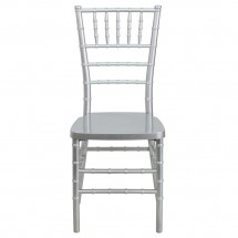 Flash Furniture LE-SILVER-GG Flash Elegance Silver Resin Stacking Chiavari Chair addl-2