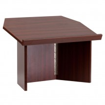 Flash Furniture MT-M8833-LECT-GG Foldable Mahogany Tabletop Lectern addl-1