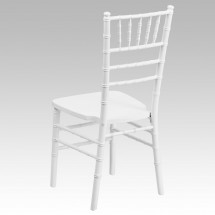 Flash Furniture XS-WHITE-GG White Wood Flash Elegance Chiavari Chair addl-2