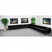 Flash Furniture ZB-IMAG-SECT-SET2-GG HERCULES Imagination Series Black Leather Sectional Configuration, 11 Piece addl-3