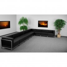 Flash Furniture ZB-IMAG-SECT-SET4-GG HERCULES Imagination Series Black Leather Sectional Configuration, 9 Piece addl-3
