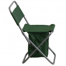 Flash Furniture TY1262-GN-GG Green Folding Camping Chair with Insulated Storage addl-1