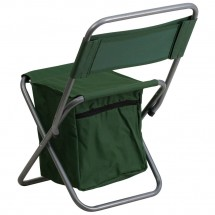 Flash Furniture TY1262-GN-GG Green Folding Camping Chair with Insulated Storage addl-2