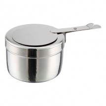 TigerChef Stainless Steel Full Size Roll Top Round Chafer, 6 Qt. addl-7