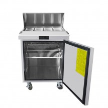Atosa MSF8301GR Refrigerated Sandwich Prep Table 27 addl-1