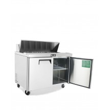Atosa MSF8302GR Refrigerated Sandwich Prep Table 48 addl-1