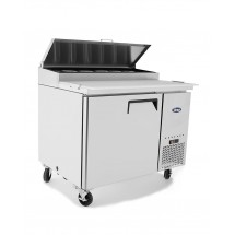Atosa MPF8201GR Pizza Prep Table One Door Refrigerator 44 addl-1