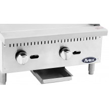 Atosa ATMG-24 Heavy Duty Manual Griddle, 24 addl-5