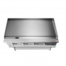 Atosa ATMG-48 Heavy Duty Manual Griddle, 48 addl-1