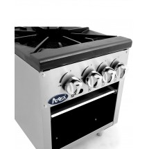 Atosa ATSP-18-2 Double Stock Pot Stove addl-2