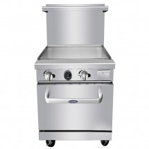Atosa ATO-24G 24 Gas Range with 24 Griddle and Single 20 Oven addl-3