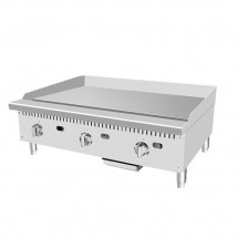 Atosa ATMG-36T 36 HD Thermostatically Controlled Commercial Griddle addl-4