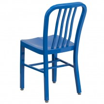 Flash Furniture CH-61200-18-BL-GG Blue Metal Indoor-Outdoor Chair addl-2