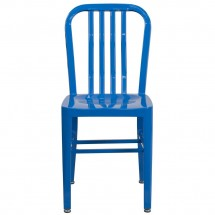 Flash Furniture CH-61200-18-BL-GG Blue Metal Indoor-Outdoor Chair addl-3