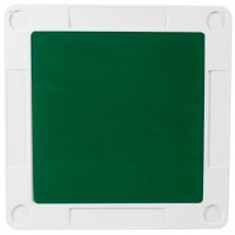 Flash Furniture DAD-MJZ-88-GG 34.5 Square Granite White Folding Game Table with Green Playing Surface addl-2